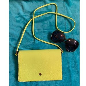 Cute Neon Green Crossbody Purse 🍄